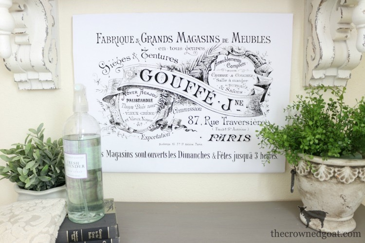 French-Inspired-Laundry-Room-Art-The-Crowned-Goat-1 French Inspired Laundry Room Art Loblolly_Manor One_Room_Challenge
