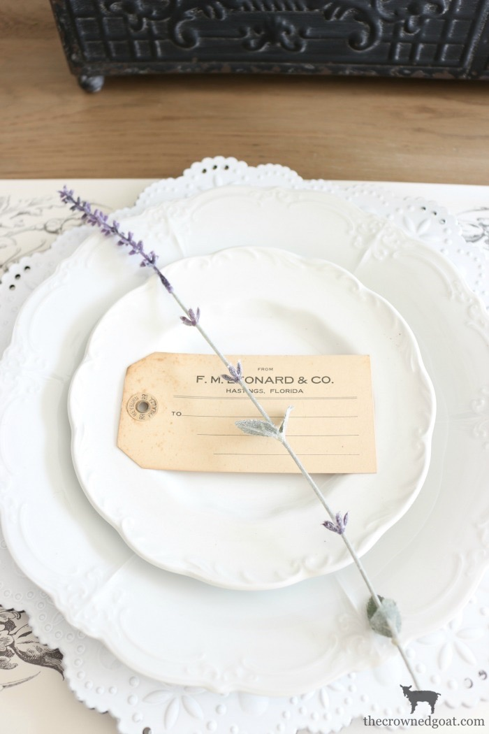 Lavender-Inspired-Mothers-Day-Tablescape-The-Crowned-Goat-3 Mother's Day Tablescape Blog Hop Loblolly_Manor