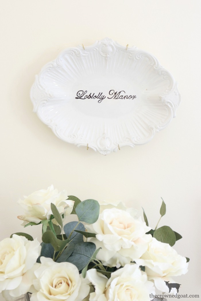 Personalize-Vintage-Plate-With-Sharpie-The-Crowned-Goat-16 Easily Personalize a Vintage Platter DIY Loblolly_Manor