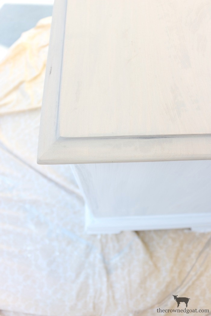 French-Linen-and-Pure-White-Painted-Nightstands-The-Crowned-Goat-11 Loblolly Manor: Guest Bedroom Nightstands Decorating Loblolly_Manor Painted Furniture
