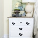 French-Linen-and-Pure-White-Painted-Nightstands-The-Crowned-Goat-16 Loblolly Manor