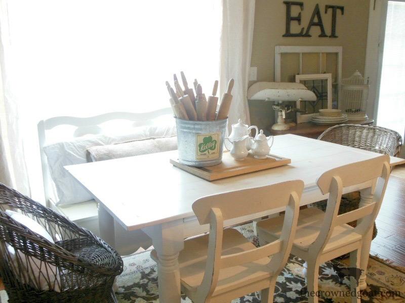 Breakfast-Nook-Design-Plans-The-Crowned-Goat-3 Breakfast Nook Design Plans Decorating DIY