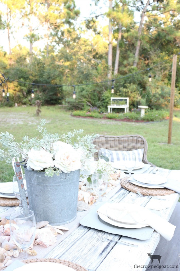 Coastal-Inspired-Tablescape-The-Crowned-Goat-1 Coastal Inspired Tablescape Decorating Summer