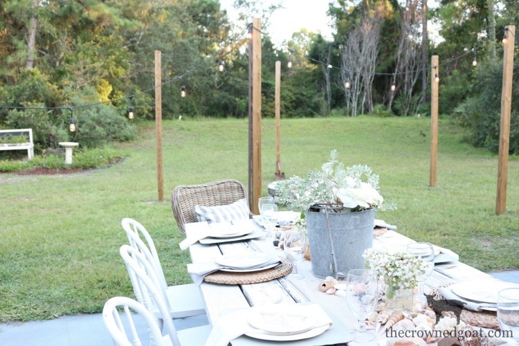 Coastal-Inspired-Tablescape-The-Crowned-Goat-2 Coastal Inspired Tablescape Decorating Summer