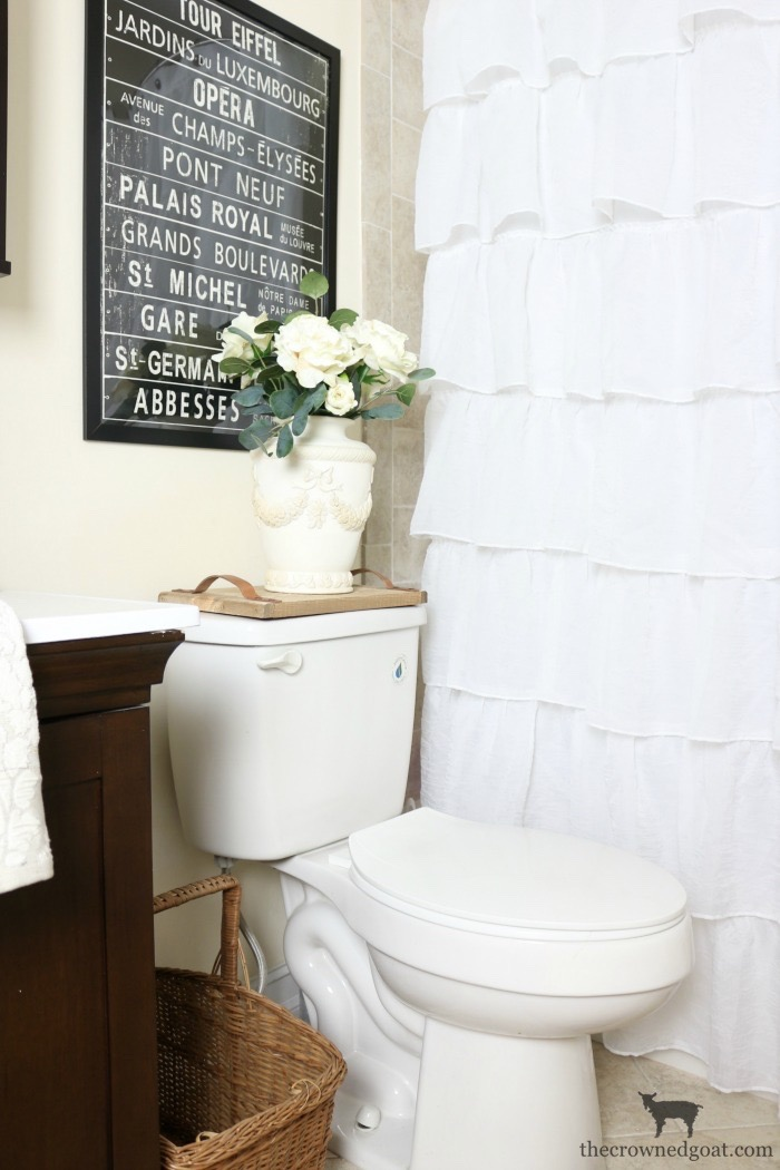 IKEA-Wall-Art-Guest-Bathroom-Makeover-The-Crowned-Goat-6 Loblolly Manor: Tiny Guest Bathroom Makeover Decorating DIY Loblolly_Manor