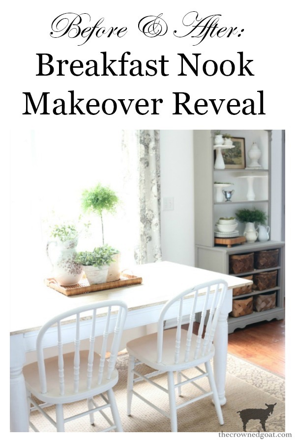 Breakfast-Nook-Makeover-Reveal-The-Crowned-Goat-25 Breakfast Nook Makeover Reveal Decorating DIY