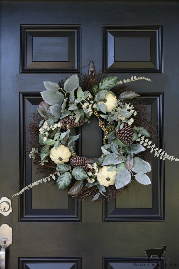 Fall-Wreath-Ideas-The-Crowned-Goat-2 19 Fall Wreath Ideas Under $50 Fall