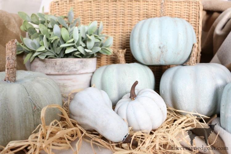 DIY-Jarrahdale-Pumpkins-The-Crowned-Goat-1 Make Your Own Heirloom Pumpkins Crafts DIY Fall
