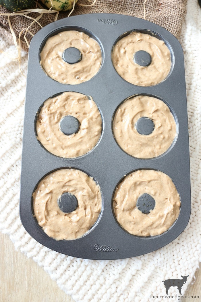 Easy-Spice-Cake-Donuts-The-Crowned-Goat-6 Spice Cake Donuts with Cream Cheese Frosting Baking Fall