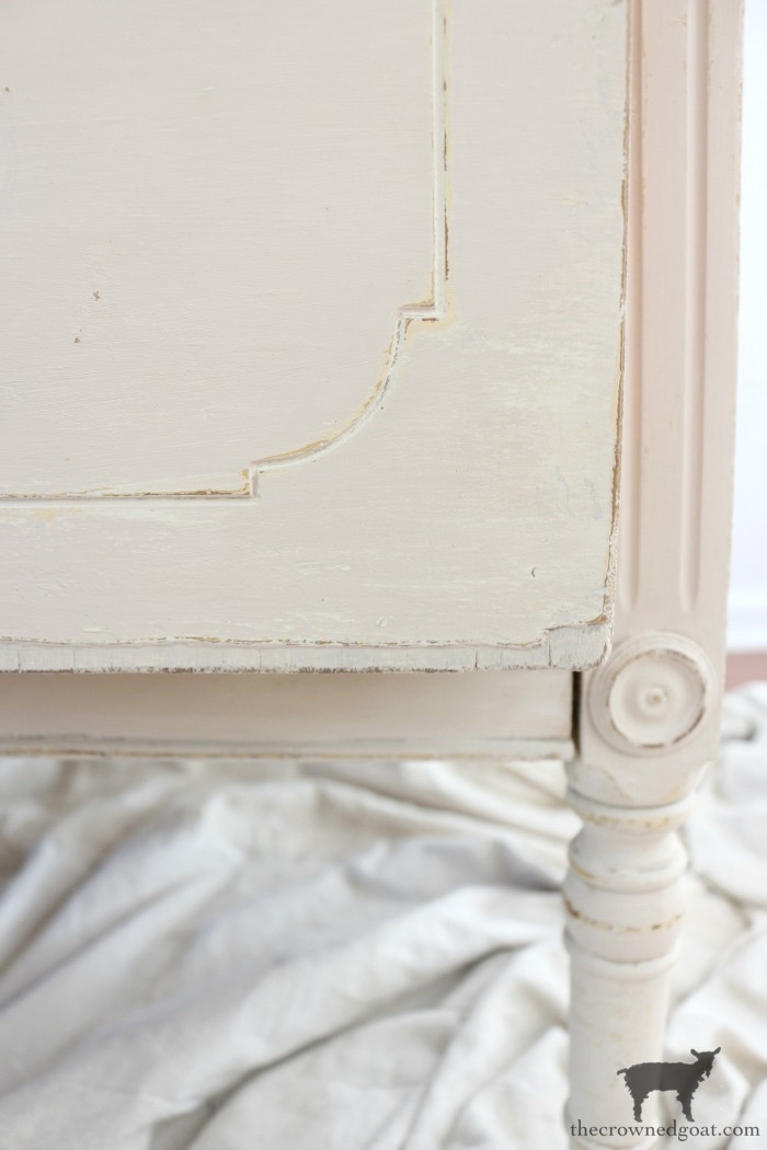 Marzipan-Milk-Paint-Dresser-The-Crowned-Goat-17 Miss Mustard Seed Milk Paint Dresser in Marzipan DIY Painted Furniture