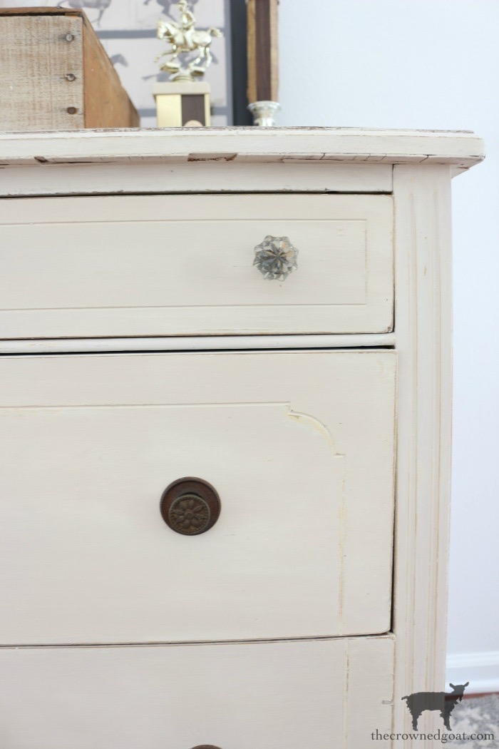 Marzipan-Milk-Paint-Dresser-The-Crowned-Goat-18 Miss Mustard Seed Milk Paint Dresser in Marzipan DIY Painted Furniture