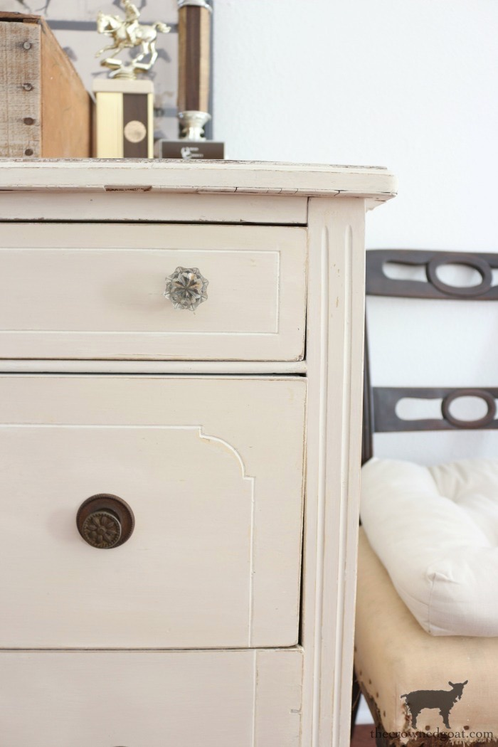 Marzipan-Milk-Paint-Dresser-The-Crowned-Goat-19 Miss Mustard Seed Milk Paint Dresser in Marzipan DIY Painted Furniture