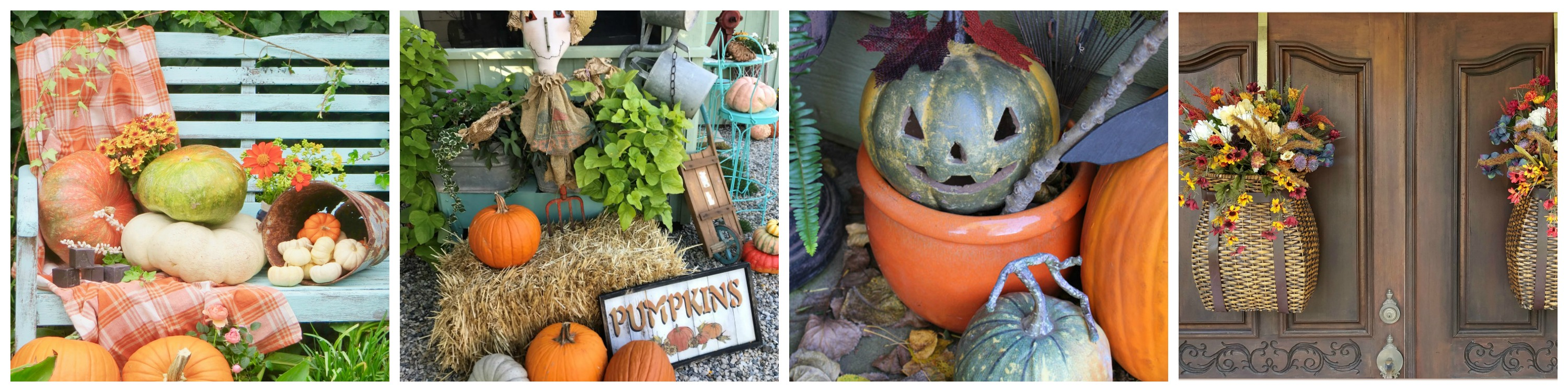 Fall-Porches-18-Collage-2 Fall Front Porch Tour Decorating Fall