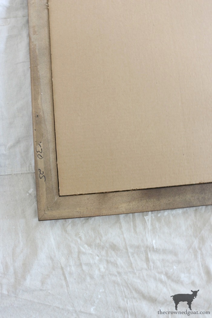 How-to-Frame-a-Poster-The-Crowned-Goat-12 An Inexpensive Way to Frame a Poster or Print Decorating DIY