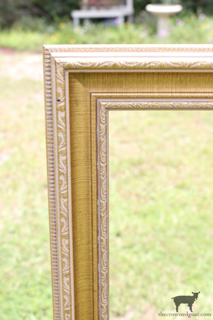 How-to-Frame-a-Poster-The-Crowned-Goat-3 An Inexpensive Way to Frame a Poster or Print Decorating DIY