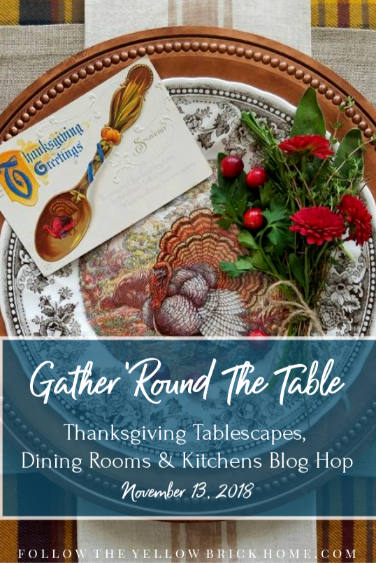 Blog-Hop-Group-Graphic Simple Thanksgiving Tablescape Ideas Decorating Thanksgiving