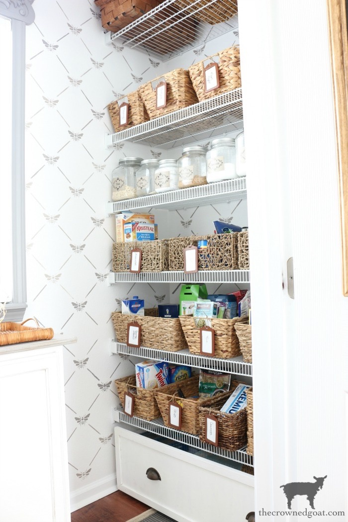 One-Room-Challenge-Pantry-Makeover-Reveal-The-Crowned-Goat-12A ORC: Pantry and Kitchen Makeover Reveal Decorating DIY One_Room_Challenge