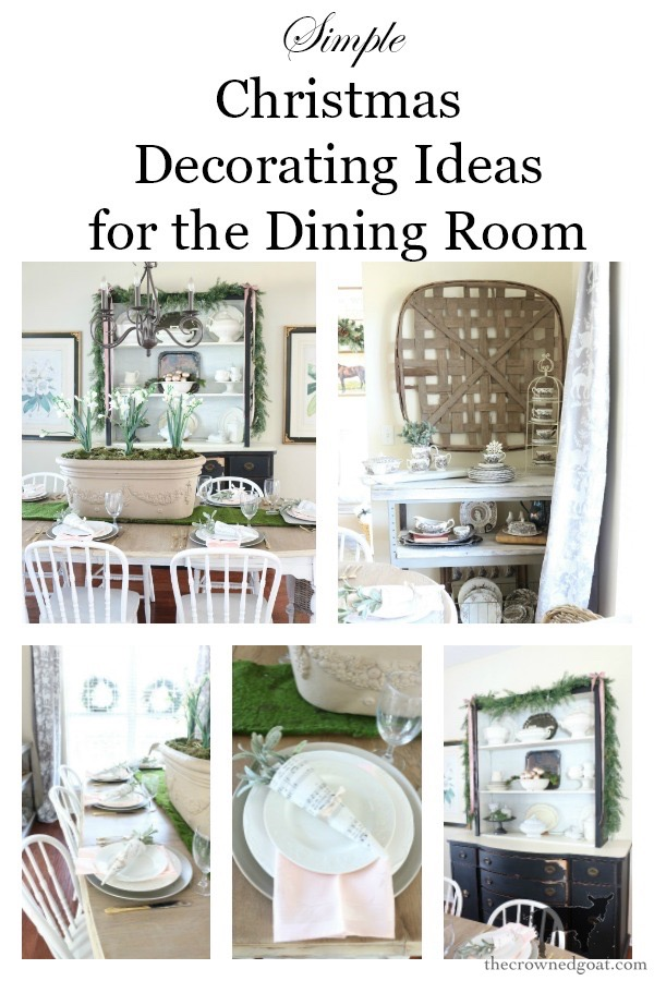 Christmas-Dining-Room-Decorating-Ideas-The-Crowned-Goat-15 Christmas Inspired Dining Room Christmas Decorating Holidays