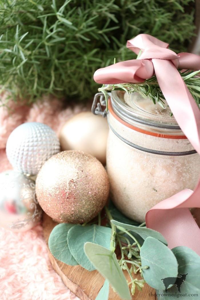 Pink-Himalayan-and-Rosemary-Salt-Scrub-The-Crowned-Goat-14 DIY Pink Himalayan & Rosemary Salt Scrub DIY