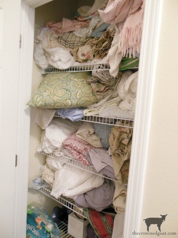 52-Weeks-to-a-Simplified-and-Organized-Home-The-Crowned-Goat-1 52 Weeks to a Simplified & Organized Home Challenge DIY Organization