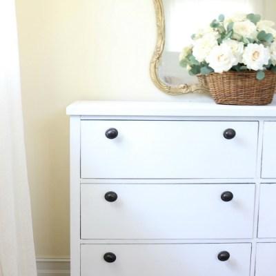 Loblolly Manor: Pure White Dresser Makeover