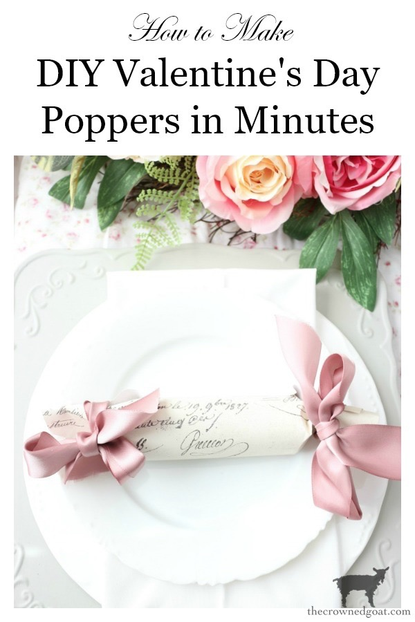 DIY-Valentines-Day-Poppers-The-Crowned-Goat-13 DIY Valentine's Poppers Holidays Valentines