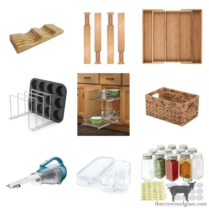 Kitchen-Zone-Organization-Tool-The-Crowned-Goat-23 How to Organize Your Kitchen into Work-Friendly Zones DIY Organization