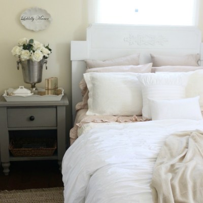 Loblolly Manor: Guest Bedroom Headboard Makeover