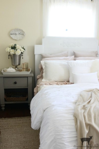 Loblolly Manor: Guest Bedroom Headboard Makeover