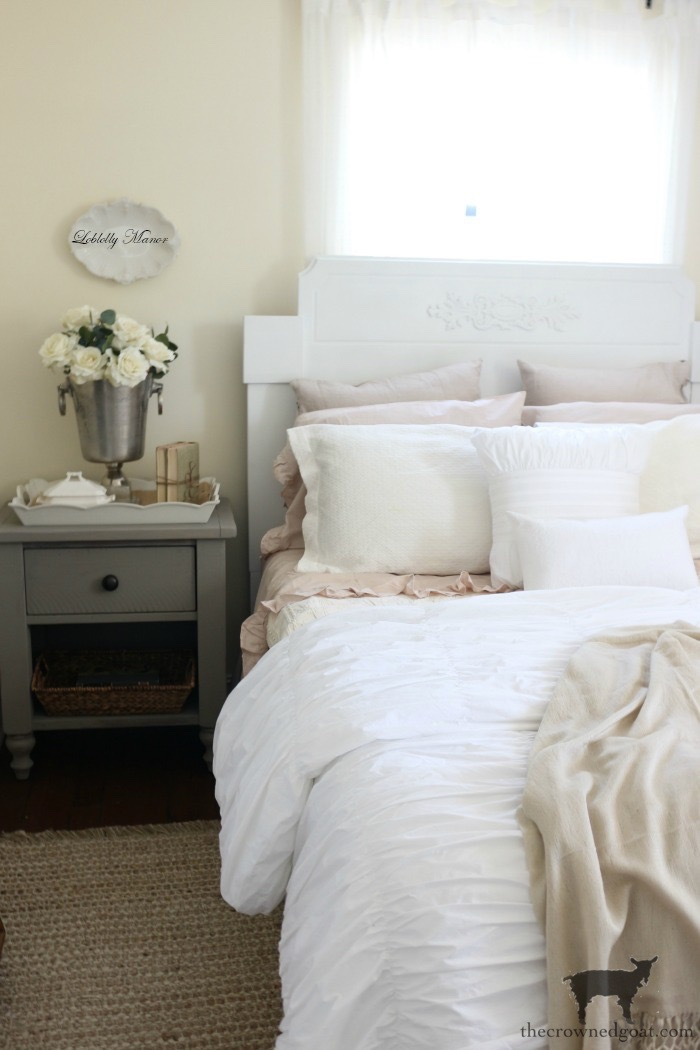 Loblolly-Manor-Headboard-Makeover-The-Crowned-Goat-11 Loblolly Manor: Guest Bedroom Headboard Makeover Decorating Loblolly_Manor Painted Furniture