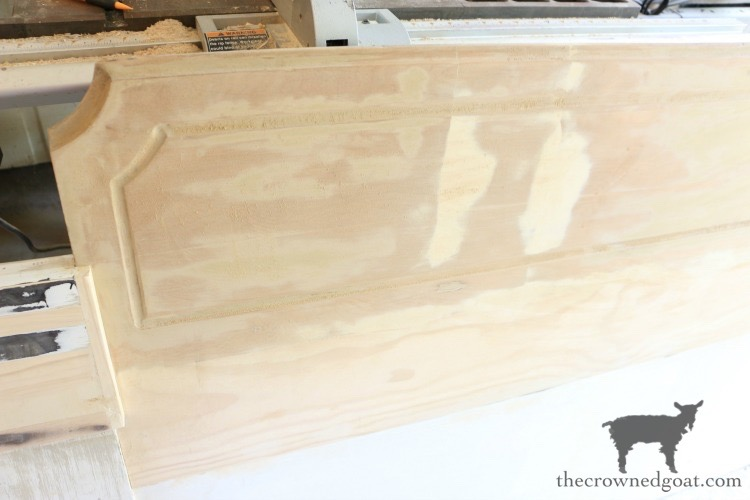 Loblolly-Manor-Headboard-Makeover-The-Crowned-Goat-5 Loblolly Manor: Guest Bedroom Headboard Makeover Decorating Loblolly_Manor Painted Furniture