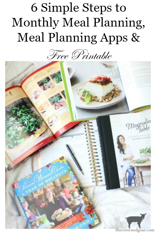 Meal-Planning-Apps-and-Time-Saving-Tips-The-Crowned-Goat-11 Meal Planning Apps & Time Saving Tips DIY Organization