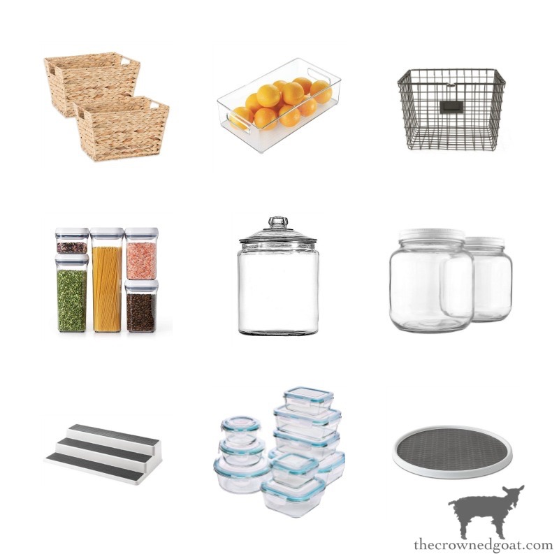 Pantry-and-Refrigerator-Storage-Organization-Containers-Amazon-The-Crowned-Goat-14 The Easiest Way to Organize Your Pantry & Refrigerator DIY Organization