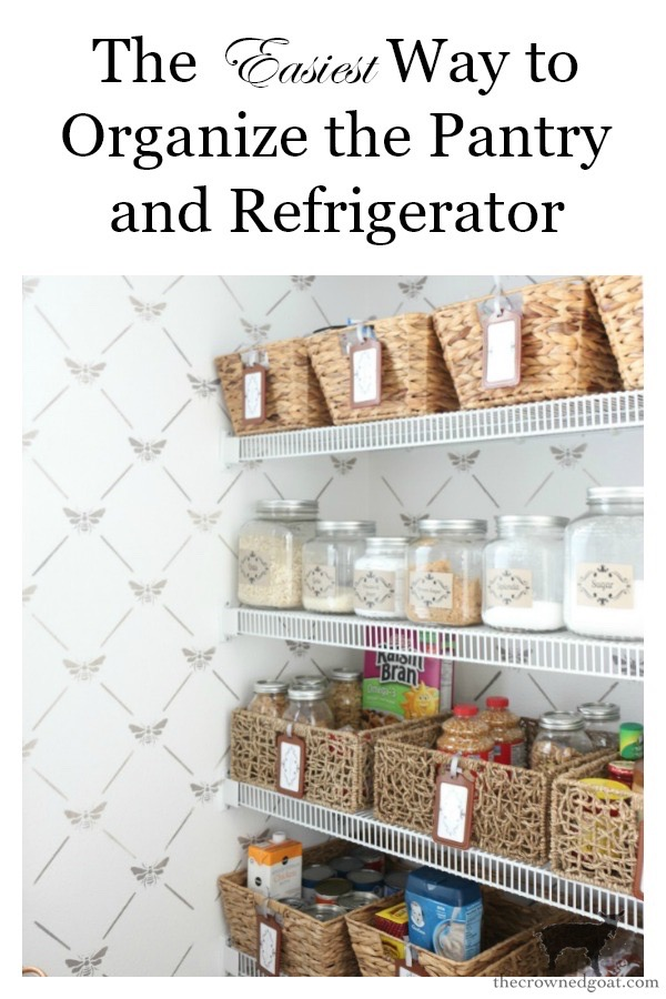 The-Easiest-Way-To-Organize-the-Pantry-and-Refrigerator-The-Crowned-Goat-18 The Easiest Way to Organize Your Pantry & Refrigerator DIY Organization