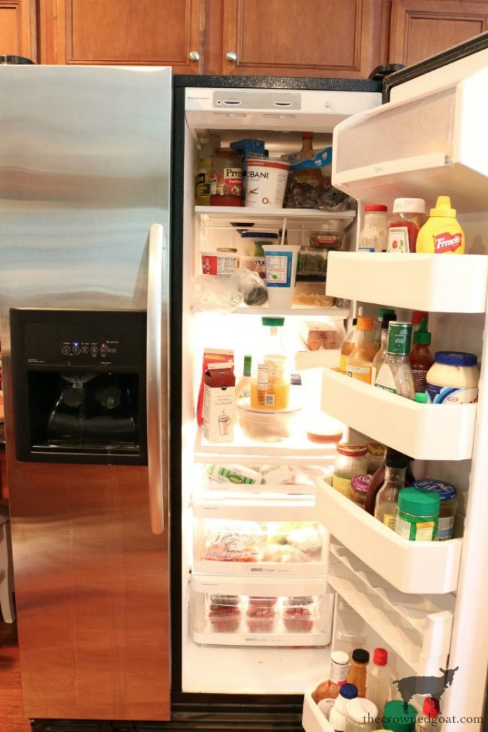 The-Easiest-Way-To-Organize-the-Pantry-and-Refrigerator-The-Crowned-Goat-3 The Easiest Way to Organize Your Pantry & Refrigerator DIY Organization