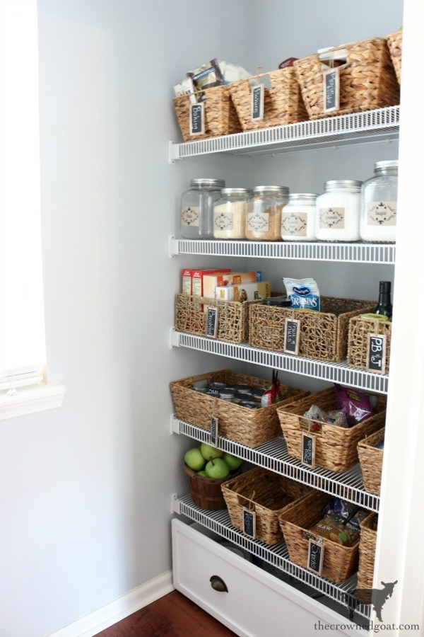 The-Easiest-Way-To-Organize-the-Pantry-and-Refrigerator-The-Crowned-Goat-5 The Easiest Way to Organize Your Pantry & Refrigerator DIY Organization