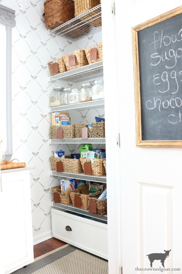 The-Easiest-Way-To-Organize-the-Pantry-and-Refrigerator-The-Crowned-Goat-7 The Easiest Way to Organize Your Pantry & Refrigerator DIY Organization