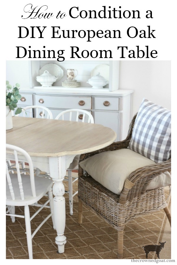 Dark-Wax-Dining-Room-Table-Five-Years-Later-The-Crowned-Goat-16 How to Condition a DIY European Oak Dining Table Decorating DIY