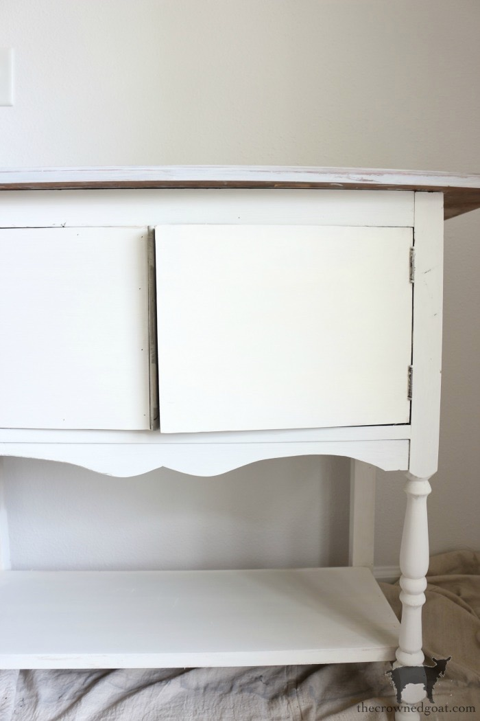 Dining-Room-Buffet-Makeover-The-Crowned-Goat-13 Dining Room Buffet Makeover Decorating DIY Painted Furniture