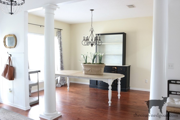 Dining-Room-Makeover-Plans-The-Crowned-Goat-1 Dining Room Makeover Plans Decorating