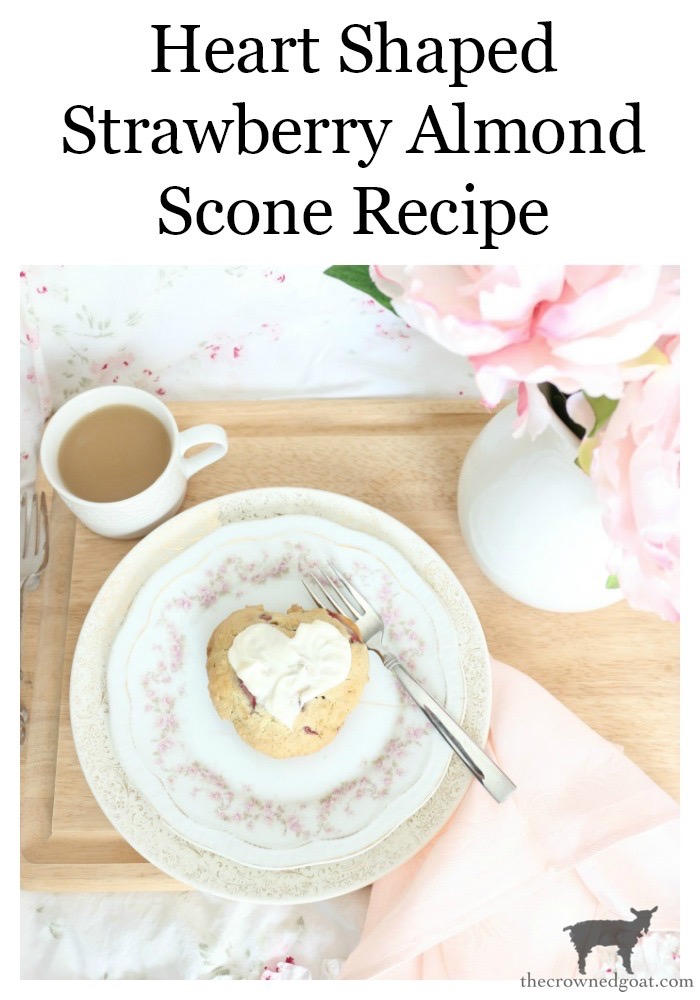Strawberry-Almond-Scone-Recipe-The-Crowned-Goat-20 Strawberry Almond Scone Recipe Baking Holidays Valentines