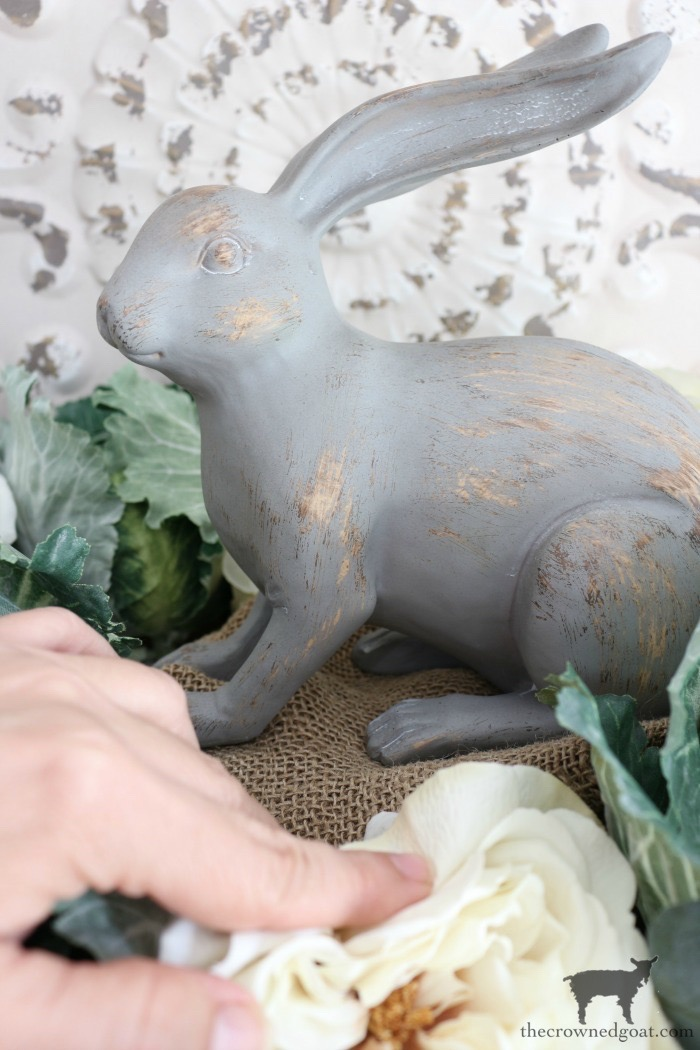 How-to-Make-a-Simple-Spring-Centerpiece-The-Crowned-Goat-12 How to Make a Simple Spring Centerpiece Decorating DIY Holidays Spring