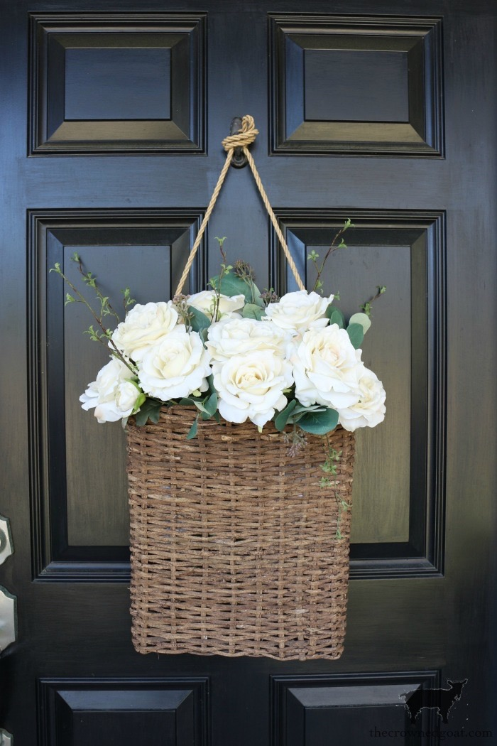 Spring-Front-Porch-Ideas-and-Blog-Hop-The-Crowned-Goat-12 Spring Front Porch Inspiration & Blog Hop Decorating DIY Holidays Spring