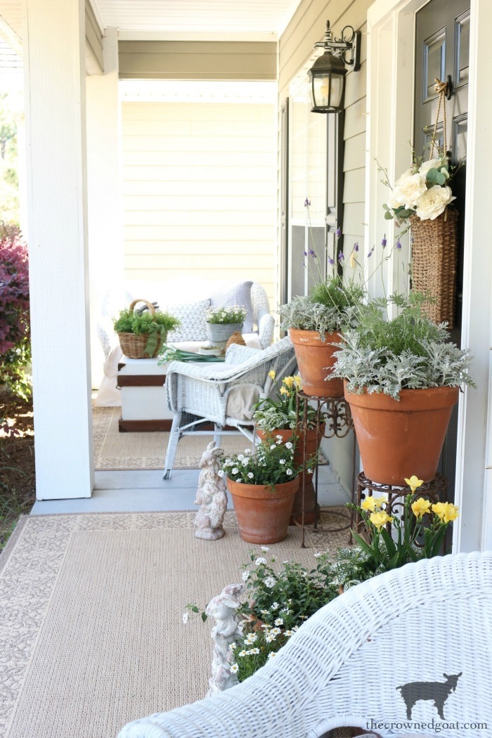 Spring-Front-Porch-Ideas-and-Blog-Hop-The-Crowned-Goat-13 Spring Front Porch Inspiration & Blog Hop Decorating DIY Holidays Spring