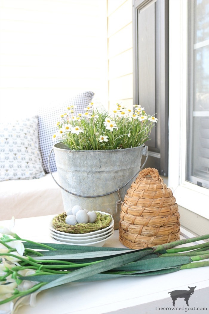 Spring-Front-Porch-Ideas-and-Blog-Hop-The-Crowned-Goat-16 Spring Front Porch Inspiration & Blog Hop Decorating DIY Holidays Spring