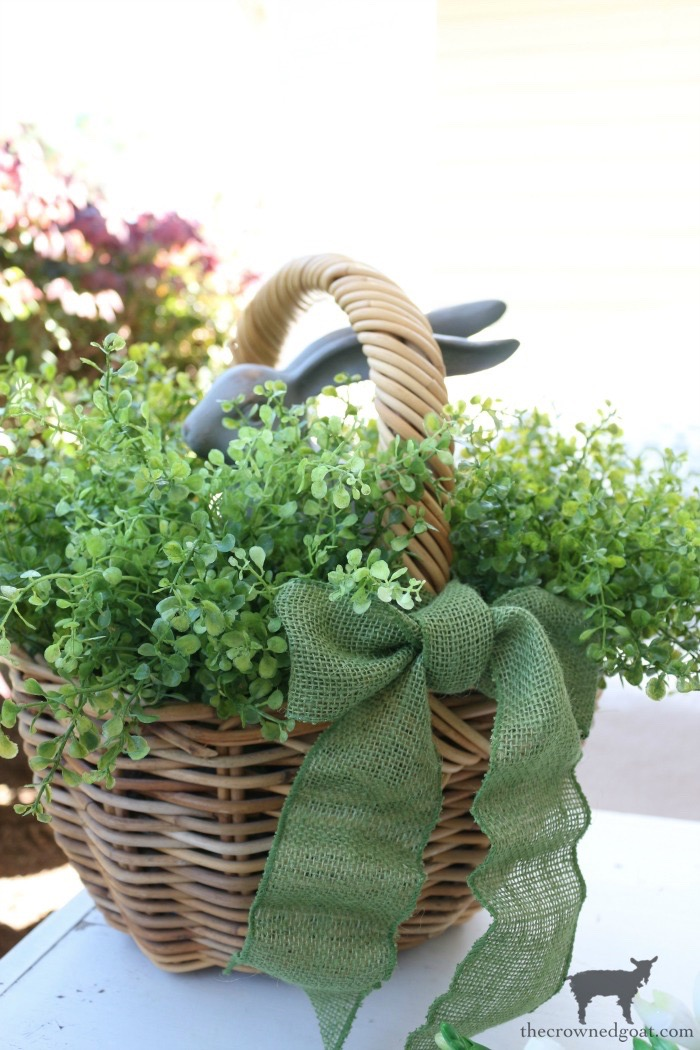Spring-Front-Porch-Ideas-and-Blog-Hop-The-Crowned-Goat-21 Spring Front Porch Inspiration & Blog Hop Decorating DIY Holidays Spring