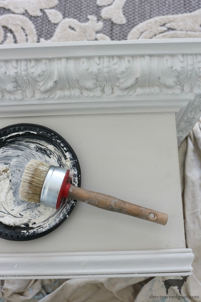 DIY-Bed-Crown-The-Crowned-Goat-12 DIY French Country Bed Crown Decorating DIY One_Room_Challenge Painted Furniture