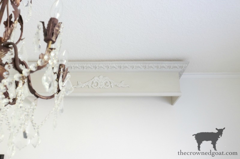 DIY-Bed-Crown-The-Crowned-Goat-19 DIY French Country Bed Crown Decorating DIY One_Room_Challenge Painted Furniture