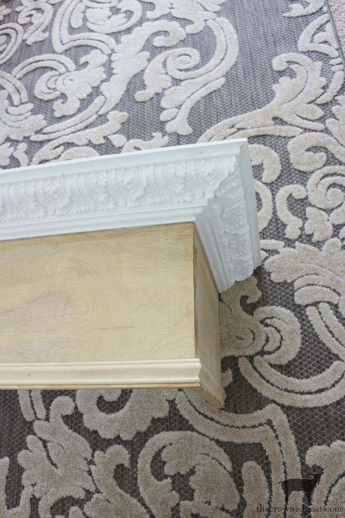 DIY-Bed-Crown-The-Crowned-Goat-5 DIY French Country Bed Crown Decorating DIY One_Room_Challenge Painted Furniture