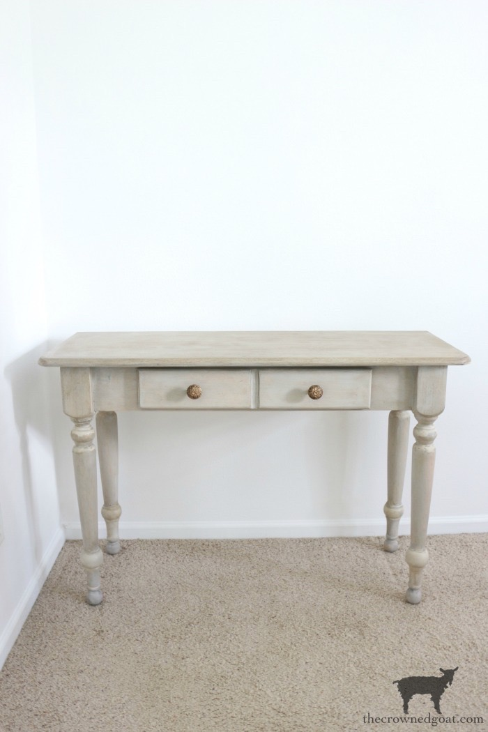 French-Country-Desk-Makeover-The-Crowned-Goat-18 French Country Desk Makeover Decorating DIY One_Room_Challenge Painted Furniture